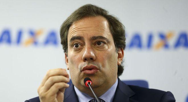 O presidente da Caixa, Pedro Guimarães