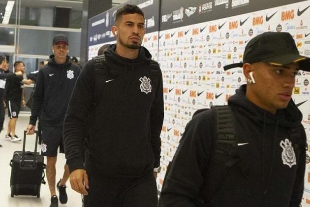 Pedro Henrique - jovem zagueiro que foi titular em boa parte da campanha do título brasileiro de 2017 e que fazia parte do elenco corintiano juntamente com Jô.