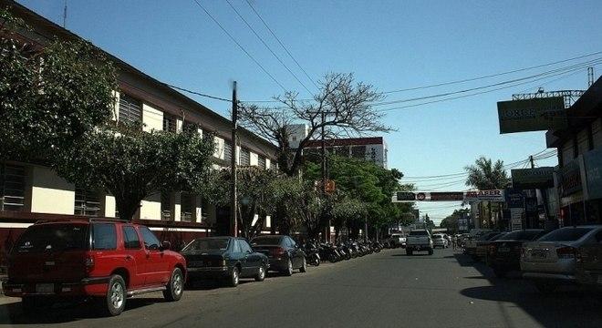 Brenda González foi atingida enquanto brincava na cidade de Pedro Juan Caballero