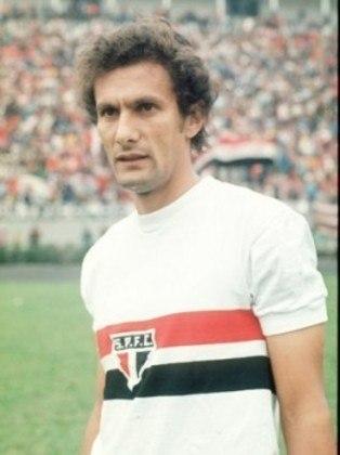 Pedro Rocha - 393 jogos: mais um uruguaio na lista, o meia jogou entre 1970 e 1978. Marcou 119 gols pelo clube do Morumbi.