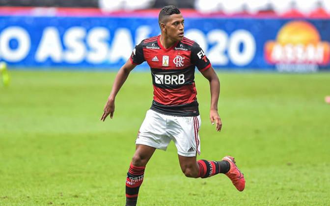 Pedro Rocha: deu adeus ao Flamengo recentemente com apenas 11 jogos disputados. Ele é do Spartak Moscou, da Rússia, e o clube poderia emprestá-lo novamente. Tem valor de mercado de R$ 15,3 milhões.