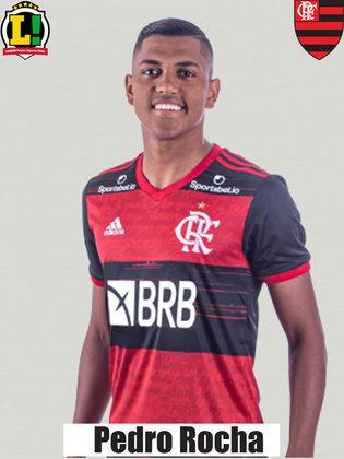 PEDRO ROCHA - Sem nota Foi outro atacante acionado por Rogério Ceni já nos minutos finais, sem a possibilidade de contribuir para um resultado positivo.