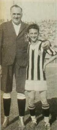 Pedro Sernagiotto (Ministrinho)- atacante - 1931/1934 - 50 jogos e 14 gols - Clubes no Brasil: Palmeiras, São Paulo e Portuguesa