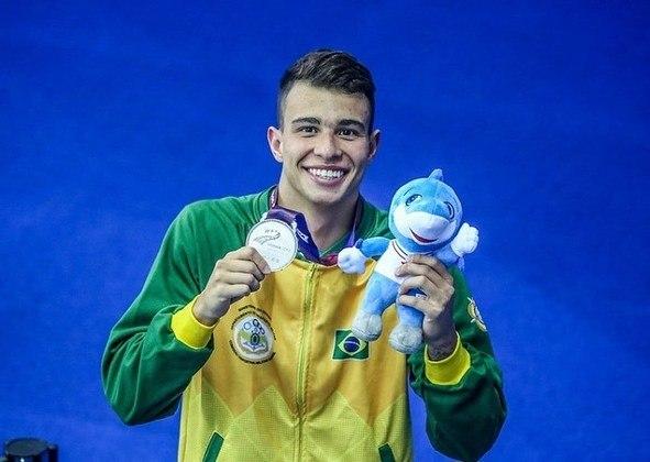 Pedro Spajari100 m livre4x100 m livre