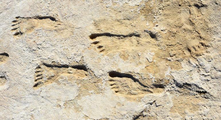 Vestígios de pegadas humanas foram encontrados em parque nos Estados Unidos