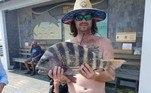 Nathan Martin mora emSouth Mills, na Carolina do Norte e ressaltou o caráter briguento do animal, geralmente muito apreciado por pescadores esportivos