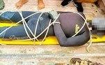 Um jovem pescador teve uma morte dramática na costa deManjuyod, nas Filipinas. O homem, identificado como Jovy Baldado Narciso, 31,acabou se afogandoapós ser arrastado mar adentro por uma garoupa de aproximadamente 60 cm de comprimento