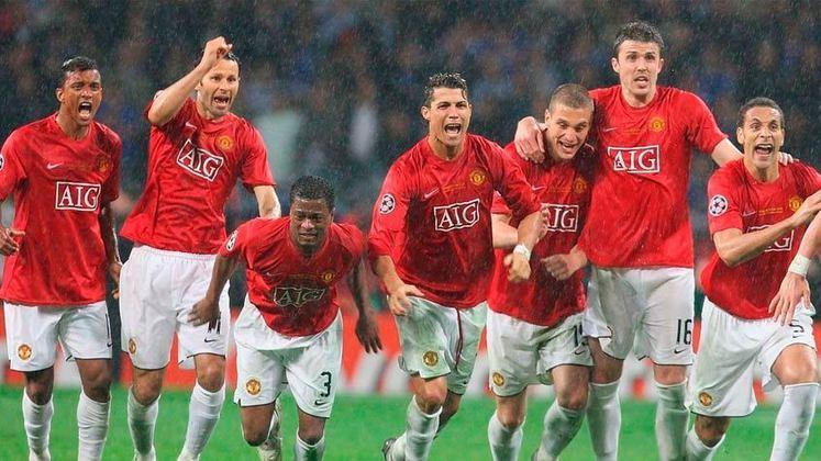Pela primeira vez na história, dos clubes ingleses se enfrentaram na final da Champions League da temporada 2007/2008. O Manchester United derrotou o Chlesea por 6 a 5 nos pênaltis após empate por 1 a 1 no Luzhniki Stadium, em Moscou, na Rússia.