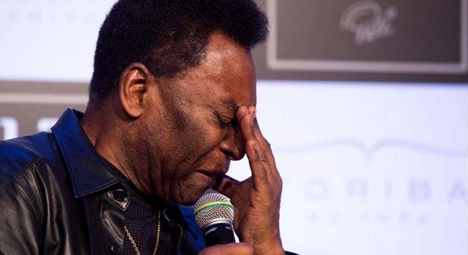 Pelé sofreu muito com a prisão de seu filho. O assunto sempre foi proibido