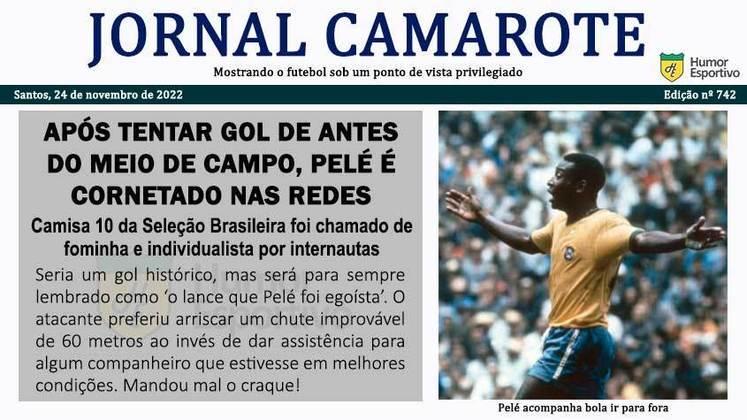 Pelé 80 anos: as possíveis notícias esportivas caso o Rei do Futebol jogasse nos dias atuais