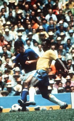 Pelé na final contra a Itália