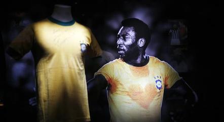 Pelé atuou por 14 anos na seleção brasileira