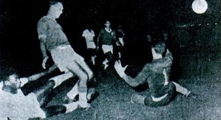 Pelé, Valdemar Fiume e Edgar