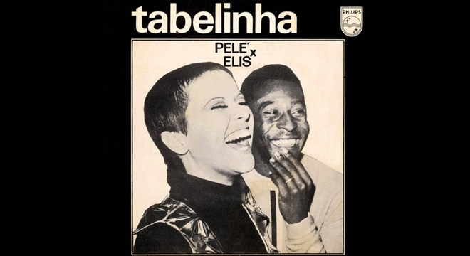 A capa do disco com Elis Regina