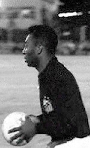 Pelé não levou gol quando nas quatro partidas que foi improvisado