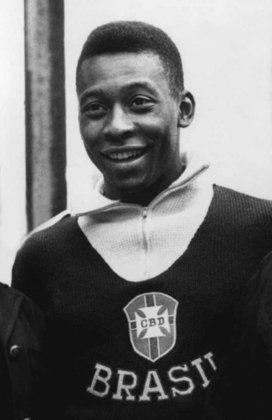 Pelé: havia sido apresentado ao mundo quando, ainda menino, chamou a responsabilidade para si na conquista da Copa de 58. No entanto, machucou-se ainda na primeira fase e desfalcou a seleção durante boa parte do campeonato. Amarildo foi