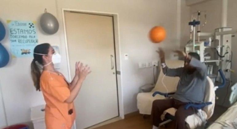 Pelé no hospital