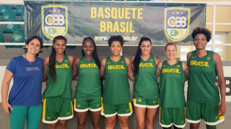 Pelo ranking da FIBA, o time feminino de basquete 3V3 do Brasil está fora das Olimpíadas.