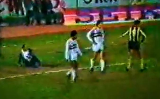 Penãrol 1 x 0 São Paulo - 20/08/1982