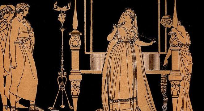 Penélope espera por Odisseu, rei de Ítaca, por 20 anos