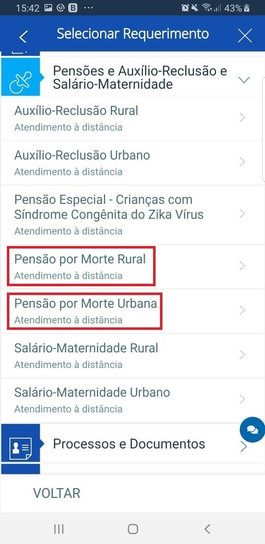 Pensão urbana ou rural?