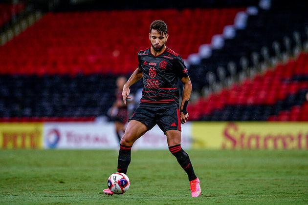 Pepê (23 anos) - Meia - 7 jogos (deixou o Flamengo para assinar com o Cuiabá)