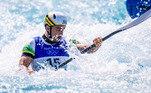 Pepê Gonçalves também se classificou para a semifinal da canoagem slalom K-1. O brasileiro marcou o tempo de 92s91 na segunda descida e garantiu uma vaga na próxima fase.