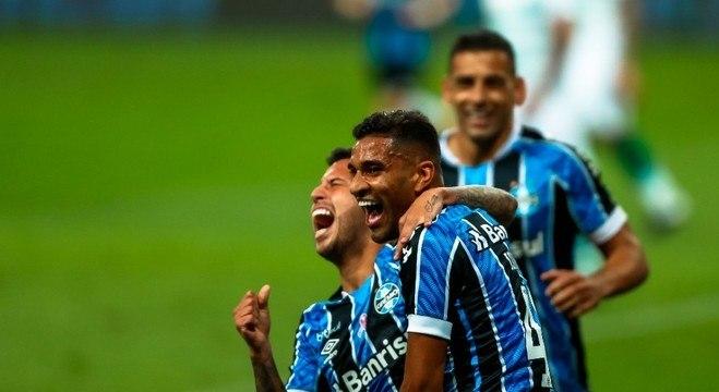 Isaque fez o único gol do Grêmio no jogo