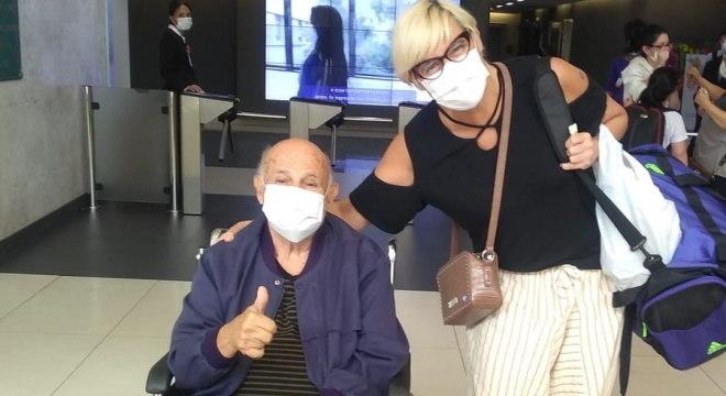 Pepe deixa hospital em São Paulo, após dez dias internado com covid-19