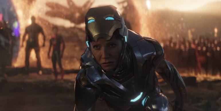 Pepper PottsEm Homem de Ferro 3 e Vingadores: Ultimato, nós conhecemos um outro lado da elegante Pepper Potts. No campo de batalha, ela mostrou que é capaz de botar para quebrar. Com a morte de seu amado Tony Stark, a personagem de Gwyneth Paltrow poderia ganhar seu próprio filme, assumindo de vez a identidade da heroína Resgate, enquanto acompanha o crescimento da filha Morgan