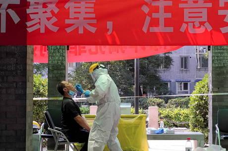Surgem novos casos de covid na China