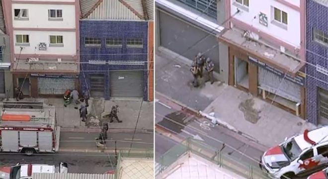 Policiais invadem prédio na região do Brás, no centro de São Paulo