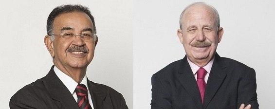Percival de Souza e Renato Lombardi estão prontos para o novo podcast do Play Plus