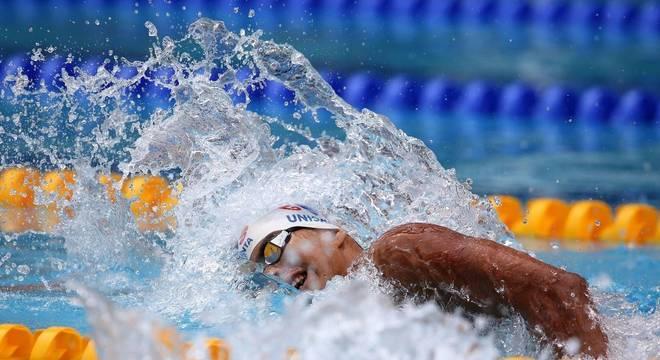 Guilherme Costa venceu a prova dos 1.500 metros no Pan de Lima