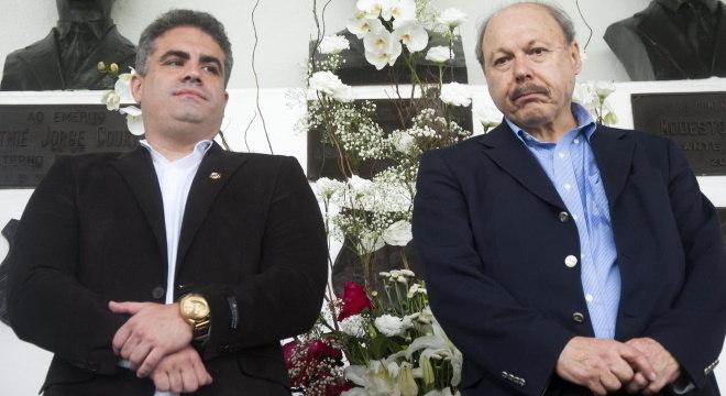 Peres e Orlando Rollo foram eleitos às suas funções em dezembro de 2017