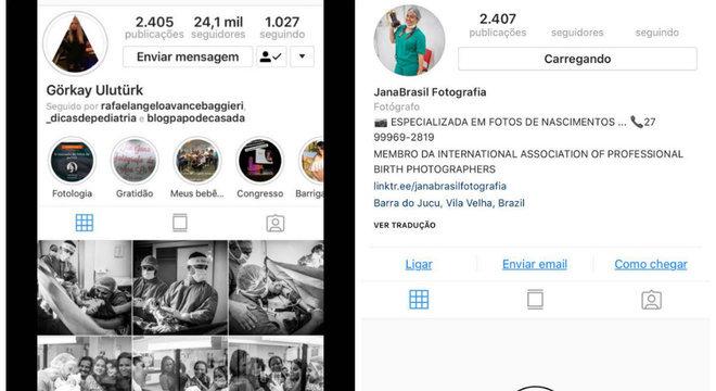 Perfil da fotógrafa Janaina Brasil foi invadido por um hacker e os posts apagados