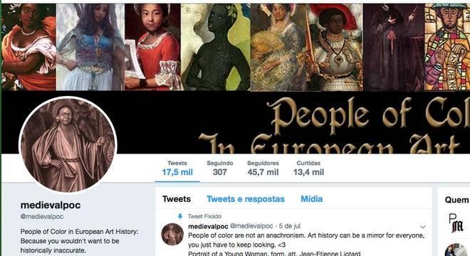 Projeto destaca representação de pessoas de cor na história da arte europeia
