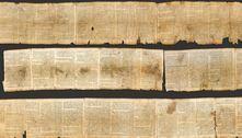 Inteligência artificial revela segredo dos Manuscritos do Mar Morto