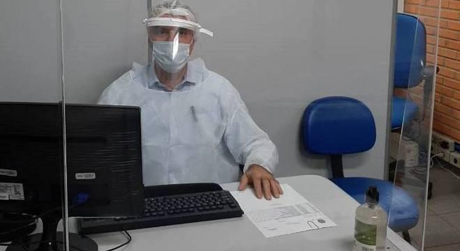 Marcelo Scarpellini é um dos peritos que voltou a atender nas agências do INSS