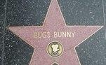 Pernalonga já ganhou uma estrela na Calçada da Fama de Hollywood, nos EUA