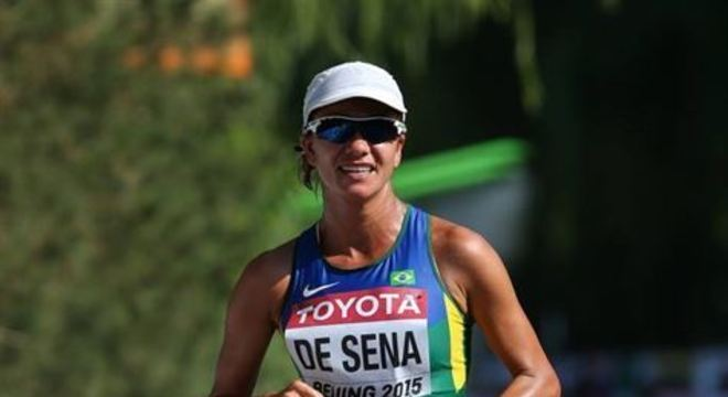 Pernambucana compete os 20km da marcha atlética a partir das 17h20 deste sábado. Em 2017, ela terminou em quarto