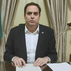 O governador Paulo Câmara