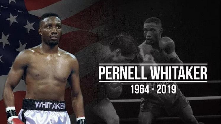Pernell Whitaker - Multicampeão no boxe e medalhista olímpico, Pernell Whitaker foi atropelado aos 55 anos, no dia 14 de julho de 2019.