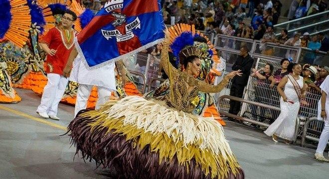 A Pérola Negra foi a campeã do Grupo de Acesso no Carnaval 2019