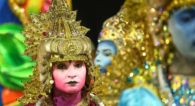 Enredo da Pérola Negra, última colocada no Carnaval 2020 de São Paulo, homenageou os ciganos