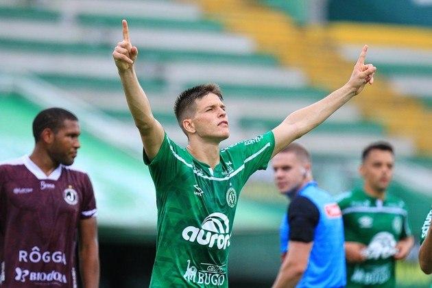 Perotti: 23 anos – atacante – Chapecoense – 12 gols em 13 jogos no Campeonato Catarinense