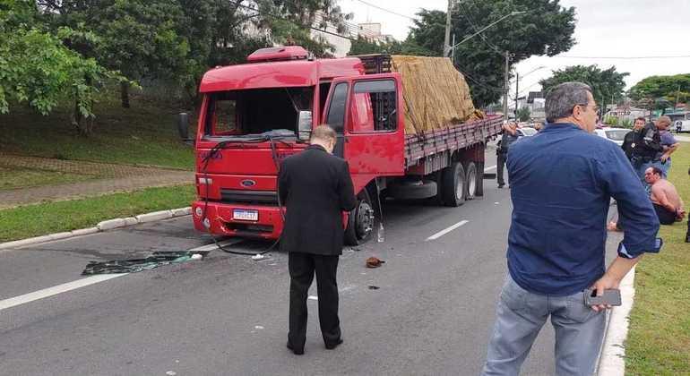 Suspeito foi parado na avenida Eliseu de Almeida, próximo do Shopping Butantã