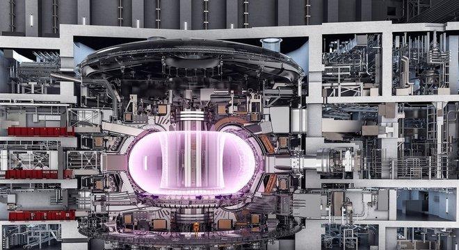 O reator do tipo 'tokamak' deve ser usado no projeto internacional de cooperação para fusão nuclear, o Iter