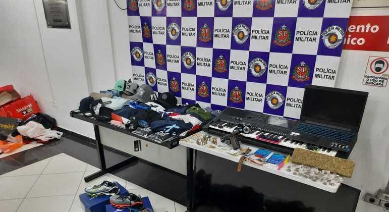 Pertences da família e itens utilizados no crime foram encaminhados ao DP
