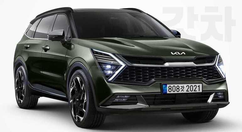 Kia Sportage 2022 deve ser equipado com motor 1.6 T-GDI, que entrega 180cv